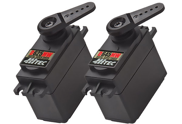 The Power of the Hitec D-Series Servos from Hitec Keeps Expanding