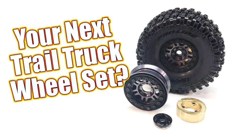 Tuff Trail Truck Scale Wheels! - Pro-Line Pro-Forge Faultline Wheels Overview