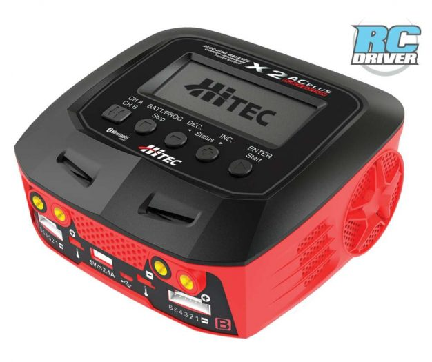GET CHARGED! - Hitec X2 AC Plus Black Edition Charger / Discharger