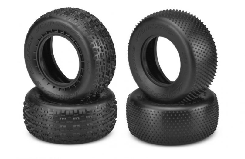 Swaggers & Pin Downs SCT Tires from JConcepts for Carpet and Astroturf tracks