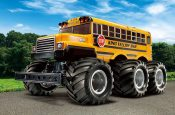 Big Yellow School Bus!  – King Yellow 6×6 – G6-01 from Tamiya