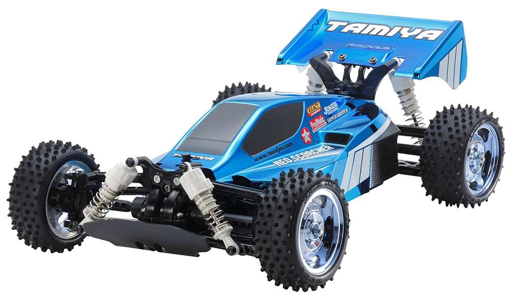 Neo Scorcher Blue Metallic LE by Tamiya