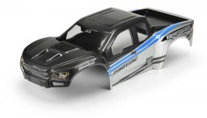 Pre-Painted Pre-Cut 2017 Ford F-150 Raptor Body (Gray Blue)
