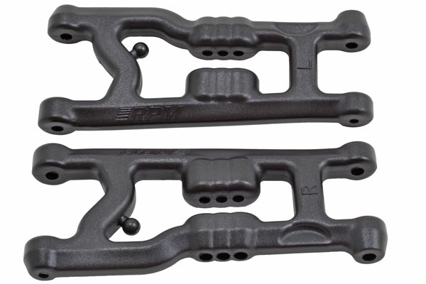 """Flat"" Front A-arms for the Associated B6 & B6D by RPM"