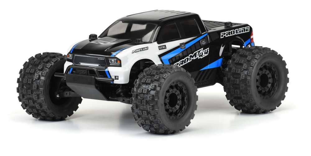 Crush The Competition! Pro-Line PRO-MT 4x4 1:10 4WD Monster Truck Pre-Built Roller