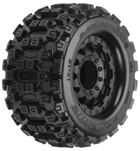 "Pro-Line Badlands MX28 2.8"" All Terrain Tires Mounted"
