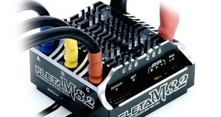 FLETA M8.2 Competition 18th Scale Brushless ESC 180A Black