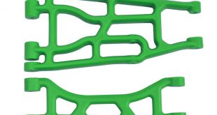 Green Traxxas X-Maxx Upper & Lower A-arms