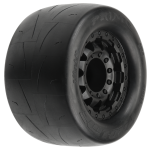 Pro-Line Prime 2.8″ Street Tires Mounted on F-11 Black 17mm Wheels