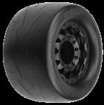 Pro-Line Prime 2.8″ Street Tires Mounted on F-11 Black 17mm Wheels