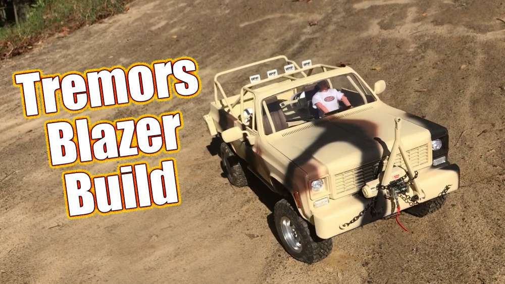 Tremors Chevy Blazer Tribute Build - RC4WD Custom Trail ...