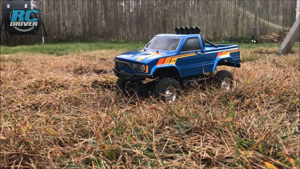 The Smaller Scale Trail Rig - Thunder Tiger Toyota Hilux 1/12 Pick-Up Truck