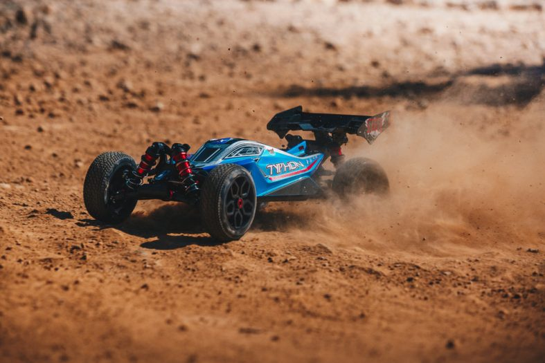 Go FAST with the 2018 Typhon 6s BLX from ARRMA