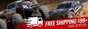 Traxxas Now Offers Free Shipping