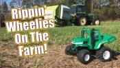 Wheelie Fun! – Tamiya Farm King WR-02G RC Tractor