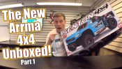 Unboxing a 4WD Short Course Basher! – ARRMA Senton 4×4
