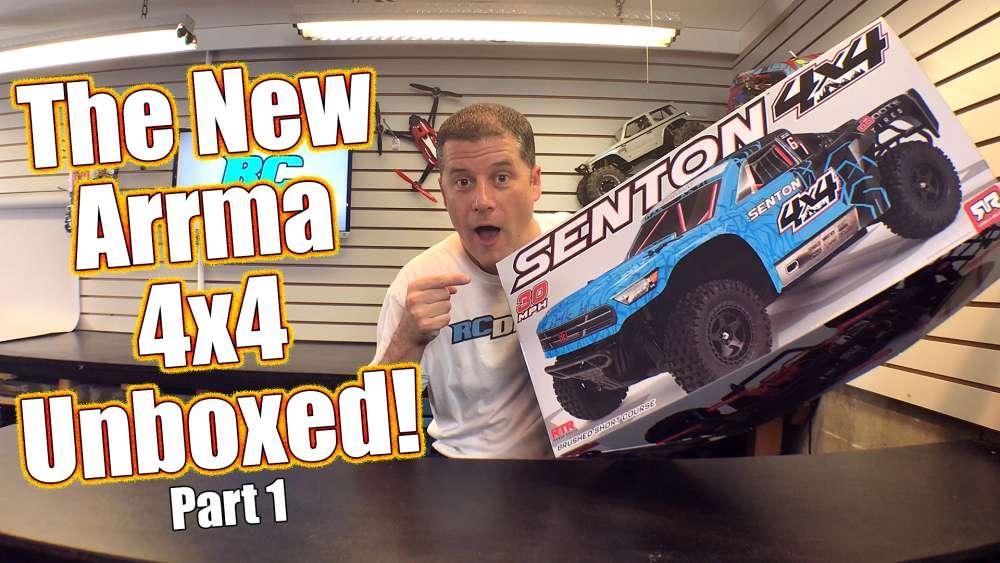 Unboxing a 4WD Short Course Basher! - ARRMA Senton 4x4