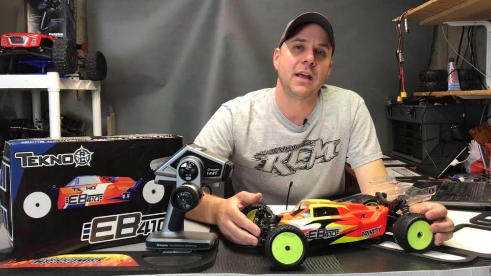 Dominate At The Track! - Tekno RC EB410 Review Video
