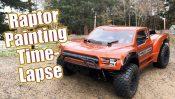 Body Painting –  Proline 2017 Ford F-150 Raptor Desert Truck