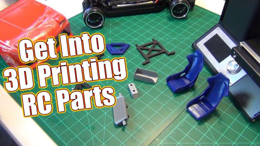 Design & 3D Print Your Own RC Parts!