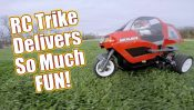 Tamiya Dancing Rider Trike Electric Kit – Pt 3 Running Video