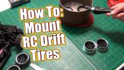 HOW TO: Mount RC Drift Tires – Project Altered Apex Drift Build