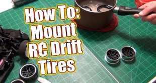 Mount RC Drift Tires