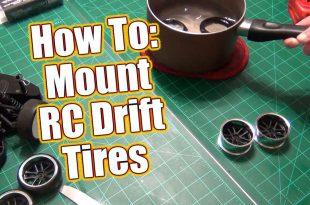 Mount RC Drift Tires