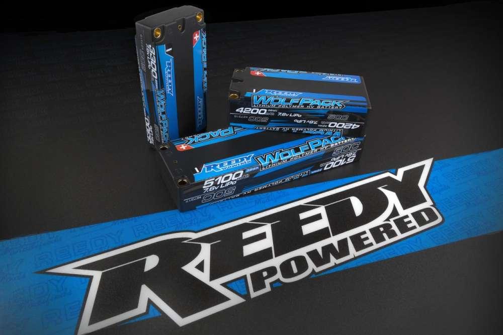 More Power! Reedy WolfPack HV LiPo Batteries