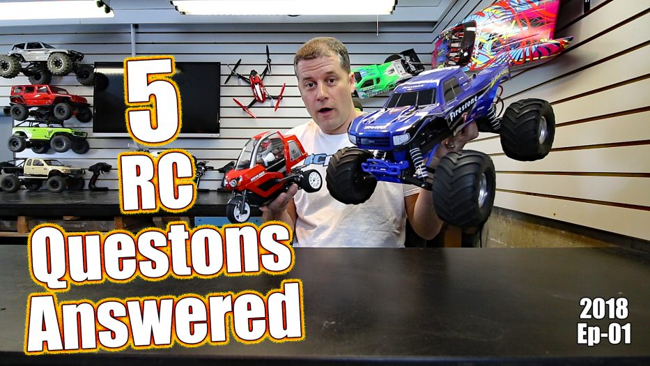 RC Driver Question & Answer Show - B64 Basher, Motor Oil & More