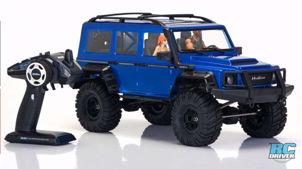 HoBao DC-1 4WD 1/10 Scale Trail Crawler First Look