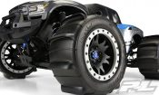 Sling Shot 4.3″ Pro-Loc Sand Tires Mounted for the X-Maxx