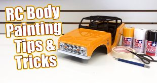 Rc Truck Body Painting Tips