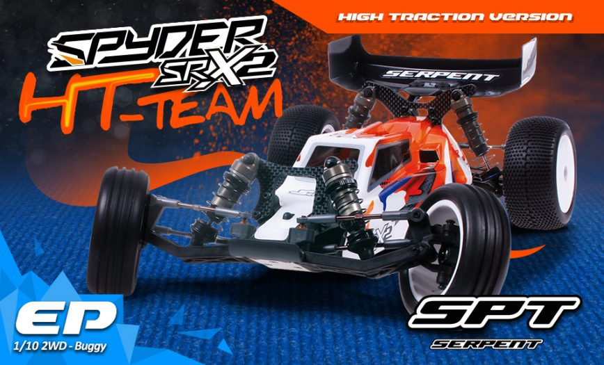 Serpent Spyder SRX2 MHT Team HT Edition (High-Traction) 2wd Buggy