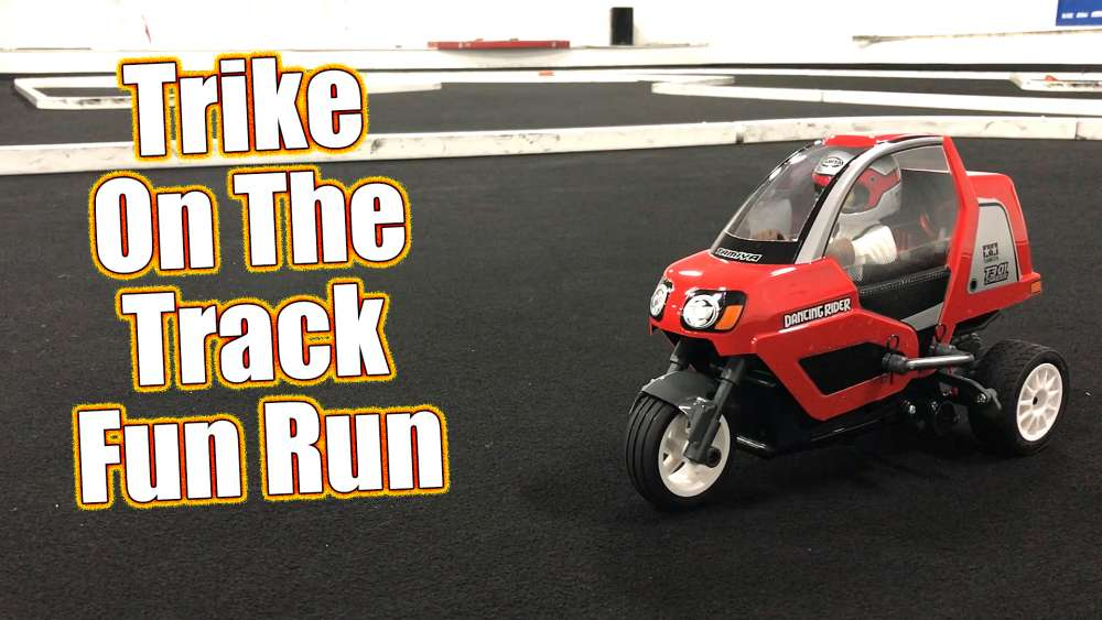 Tamiya Dancing Rider T3-01 Track Running Video