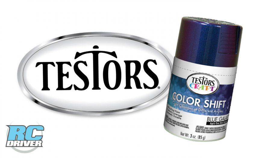 Testors Craft Color Shift Sprays for RC Hard Bodies