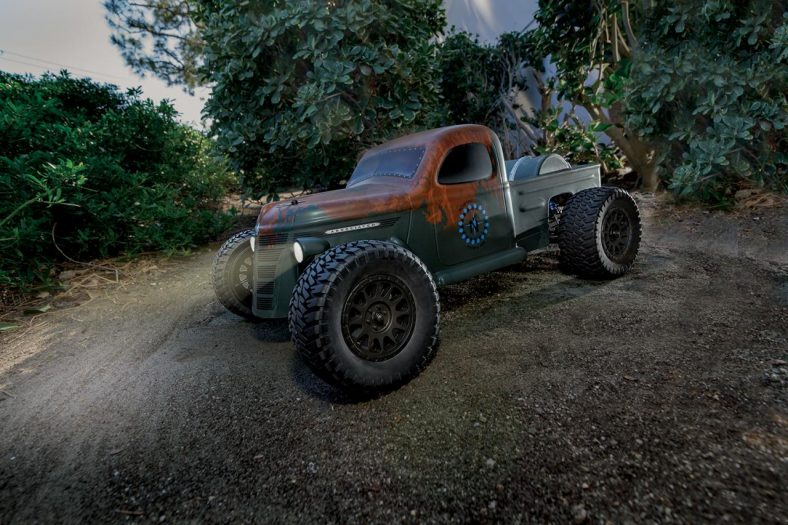 Wicked Looks!  Northrup Fabrication's Trophy Rat Replica with Dynamic Vehicle Control