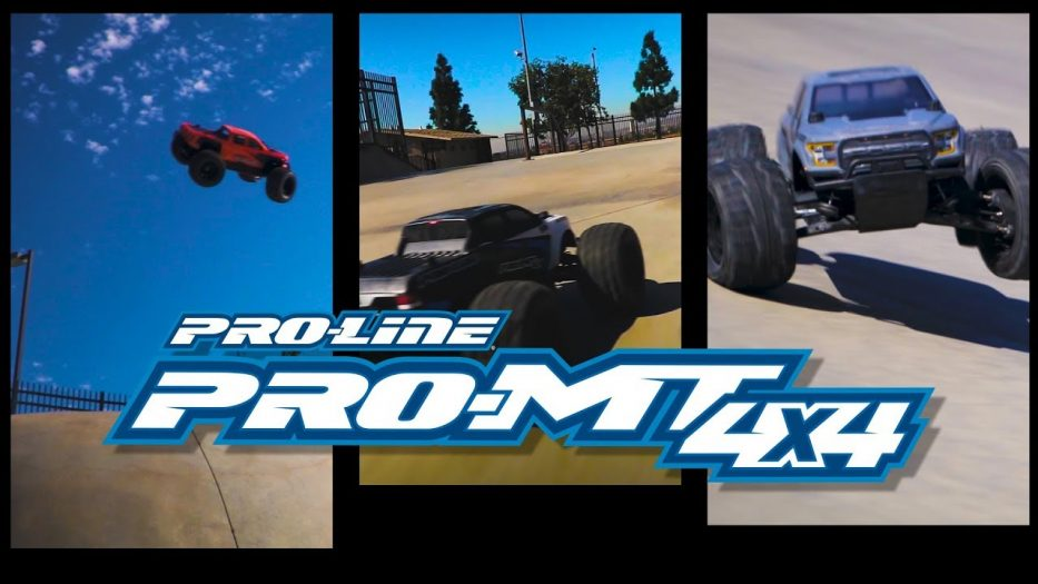 Pro-Line PRO-MT 4x4: Skate Park