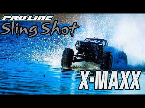 "Pro-Line Sling Shot 4.3"" Pro-Loc Tires for X-MAXX"