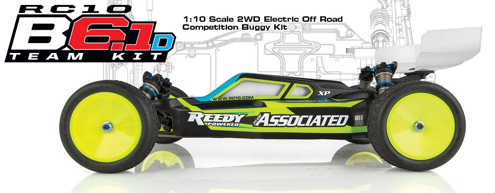 Dirt Track Domination! RC10B6.1D Team Kit from Team Associated