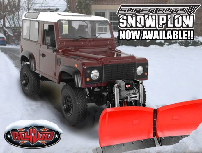 RC4wd Plow