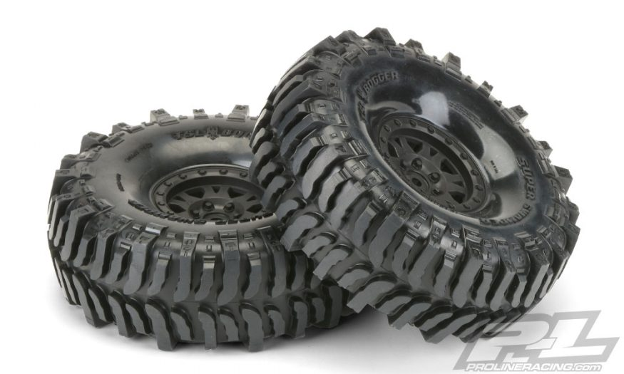 "Interco Bogger 1.9"" G8 Rock Terrain Tires Mounted by Pro-Line"