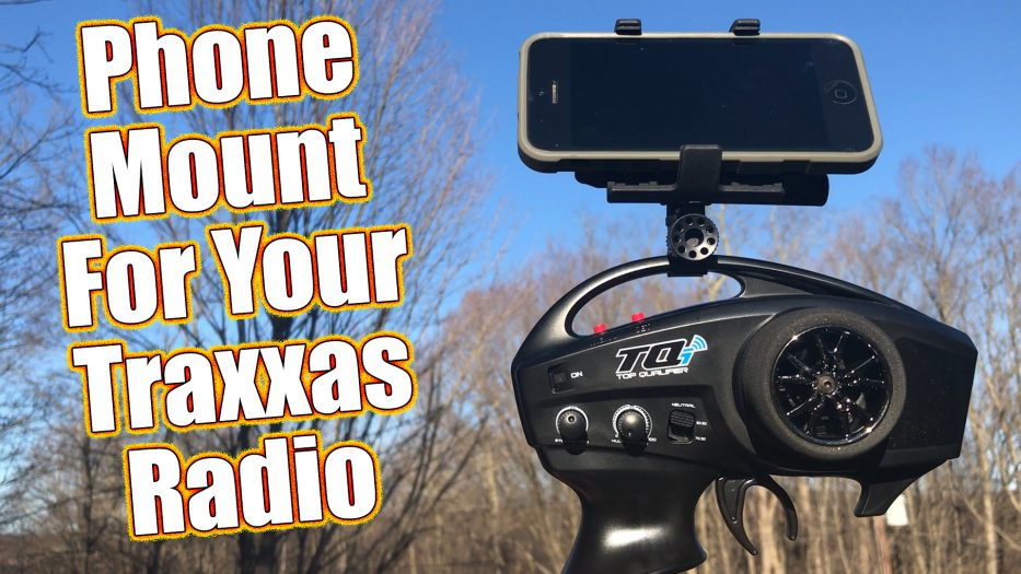 Traxxas Radio Phone Holder