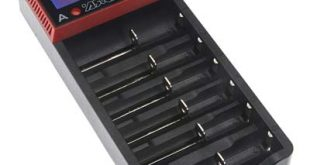 6-Bay Battery Charger