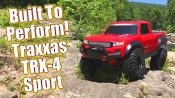 Traxxas TRX-4 Sport Scale & Trail Crawler Unboxing & Review