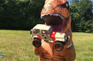 RC Jurassic Jeep
