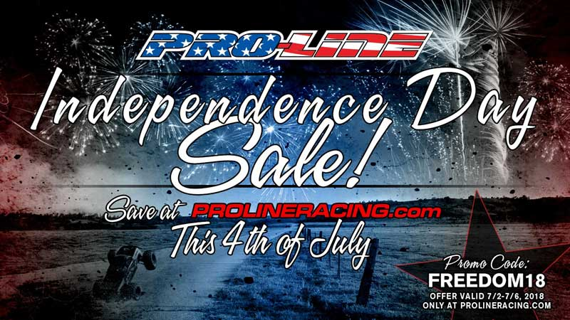Pro-Line Independence Day Sale