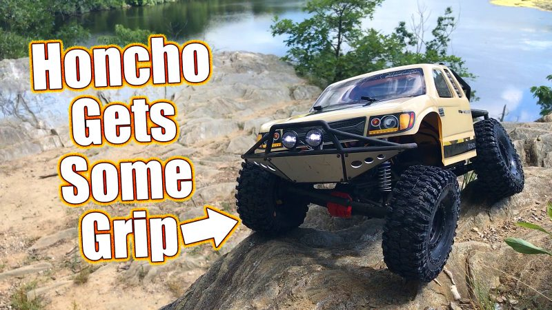 Axial SCX10 II Trail Honcho Gets Pro-Line GRIP - RC Driver