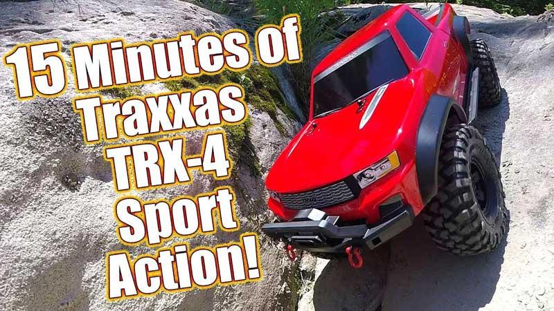 Traxxas TRX-4 Sport Scale & Trail Crawler Off-Roading