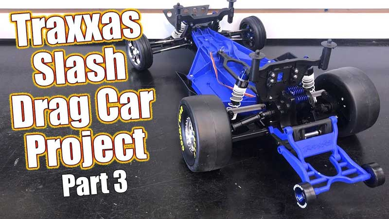 Traxxas Slash RC Drag Car Project - Part 3 Rear Assembly